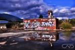 Brick Wall Grafiti Mt Dandenong Web #LandscapeGallery