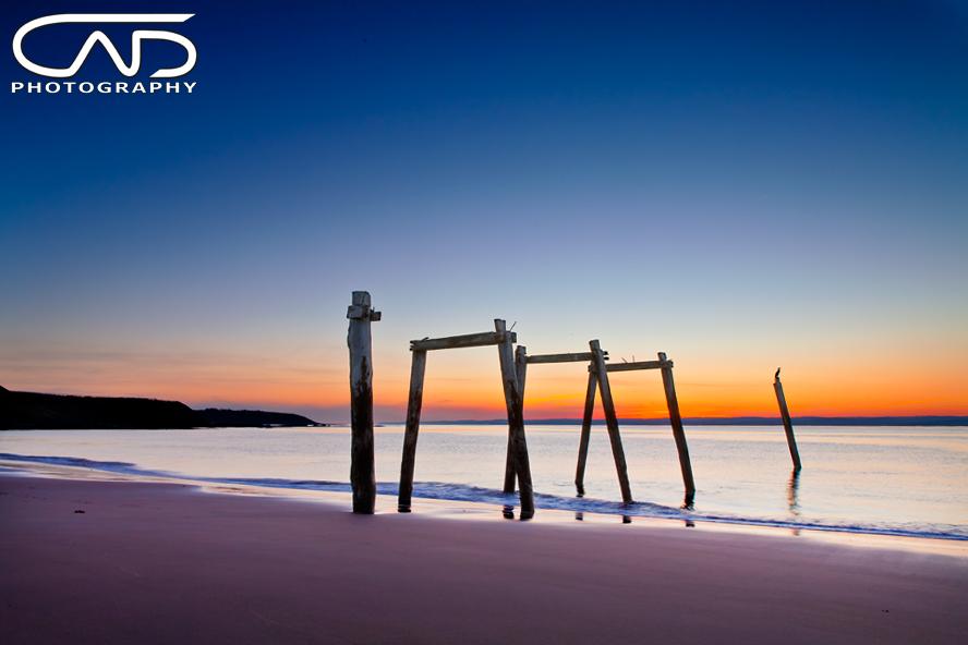 Cat Bay Pier Phillip Island Sunset in Gippsland, Melbourne, Victoria, Australia Photograph