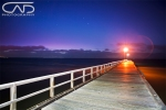 Seaford Pier Sunset Victoria Mornington Peninsula, Australia, Sunset, night, stars.