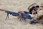 Soldier reloading gun 5