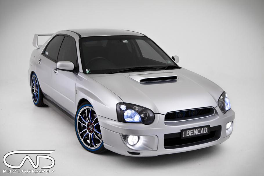 Silver WRX