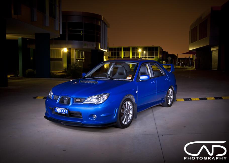 Rally Blue WRX 2006