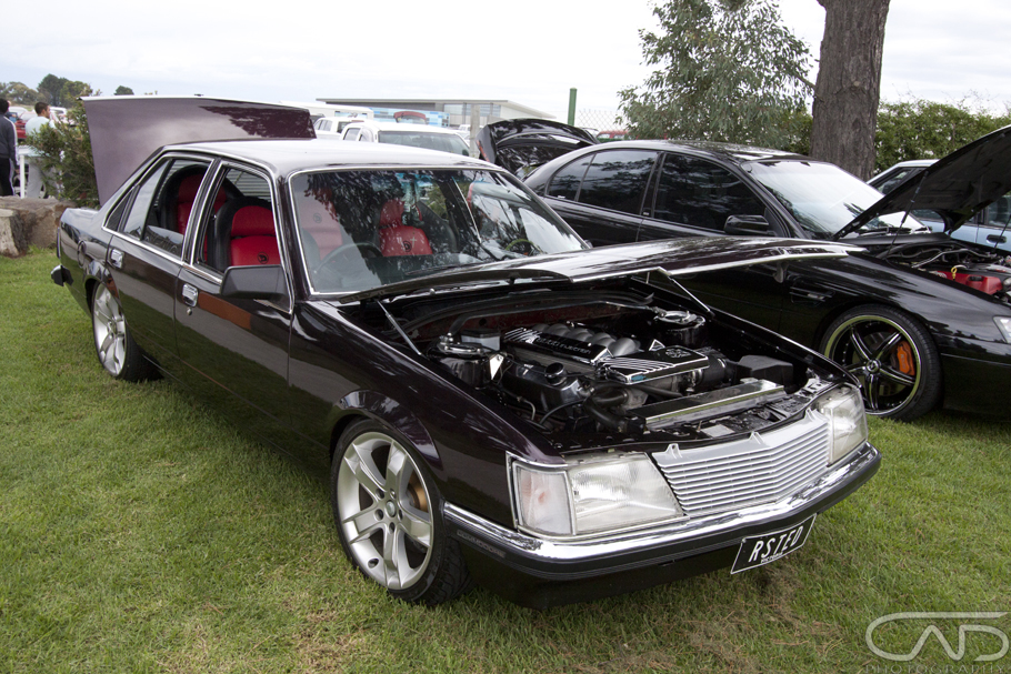 "RSTED VH Commodore on 18"" Wheels, leather Coulson interior"