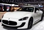 Maserati White Melbourne Motorshow