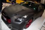 Matt Blank Vinyl R35 GTR Melbourne Motorshow
