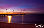 Frankston Mornington Pennisula Sunset purple horizon