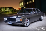 Holden HQ Restored, gun metal paint, show wheels streeters