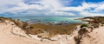 Rye Back Beach, Mornington Peninsula Victoria Australia panoramic frame