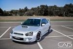 On Location Studio photoshoot with Subaru WRX