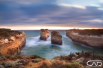 Loch Ard Gorge coastal Sunset, Victoria, Australia, Port Campbell, 12 Apostles, National Park