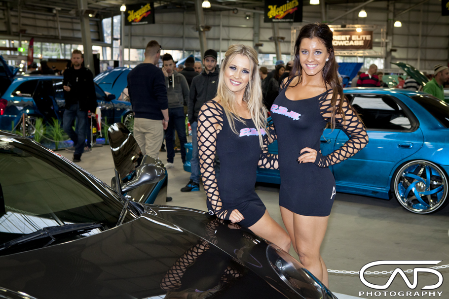 Models Showgirls MotorEx 2014 Cad Photography