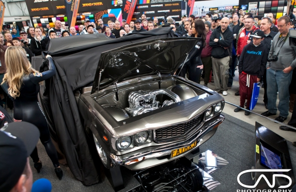 FATRX3 Unveil Meguires MotorEx 2014 Cad Photography